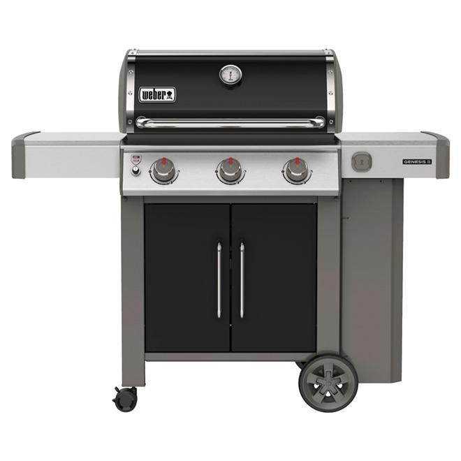 barbecue au gaz propane genesis e 315 39 000 btu noir