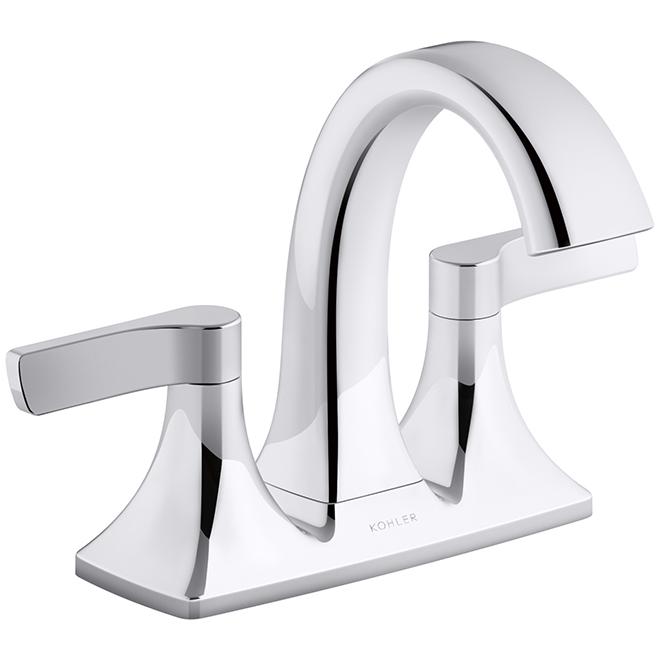 maxton bathroom faucet 2 handles polished chrome