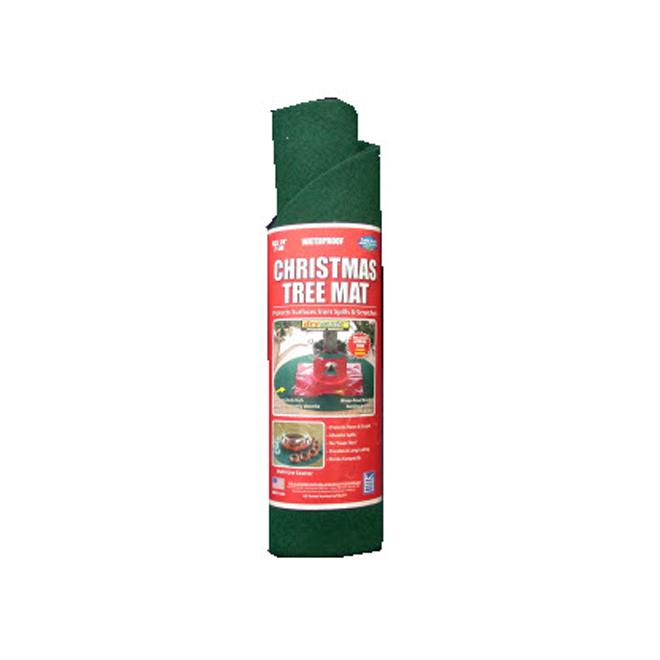 tapis impermeable pour sapin de noel vert