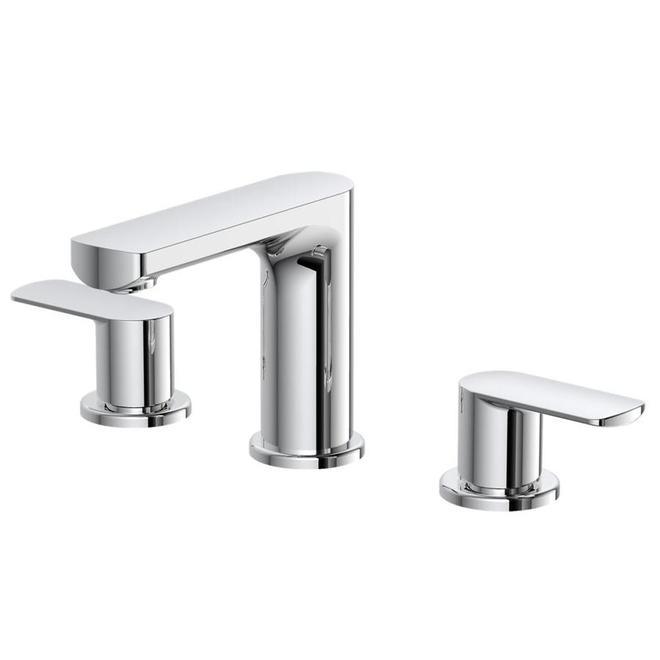 allen roth primo 2 handle bathroom faucet chrome