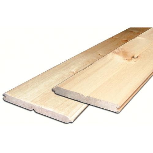 planche de pin noueux 1 po x 6 po x 6 pi
