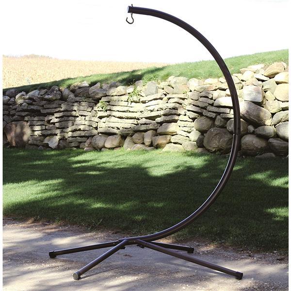 support pour chaise hamac dream charbon