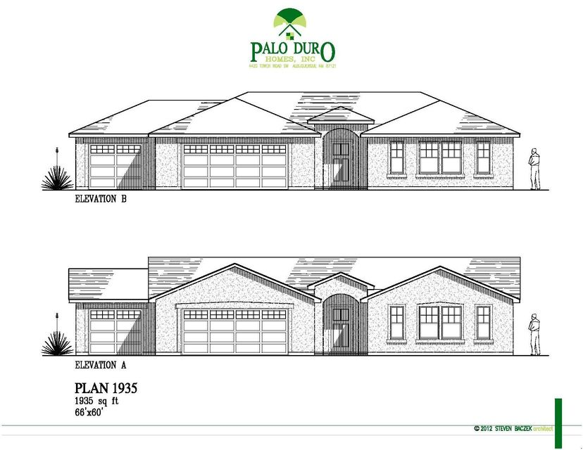 More Lots... Let Palo Duro Homes build you a High Performance Green Home. Great floor plans with 3 or 4 bedrooms and a very open design. HERS rating close to 50, whole house air filtration system and tankless water heater all standard. Energy efficient and comfortable. Pick all of your colors and upgrades. We can build this floor plan or a different one. Build time is close to 6 months. Model home at 3229 Oakmount SE in Rio Rancho, call for showings.