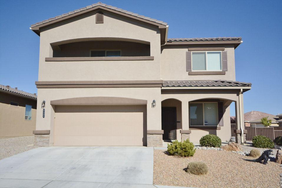 Wonderful Corner Lot with Amazing Views- This home has it all-4 bdrms+Office, Beautiful Gourmet Kitchen w/PLENTY OF countertops/Island, dark cabinets, stunning  backsplash & tile flooring, LG Pantry PLUS -Bonus- EXTRA built in Storage, Upstairs features Master Retreat complimented with access to private balcony & oversized Master-bath w/HUGE walk-in closet. Three large bedrooms coupled with spacious loft is Great for Movie Night,Football games. This expansive and functional floorplan is PERFECT- so much that your buyers don't need to wait for a home to be built, AND have the opportunity  to save money for the same floorplan-this home with so many updates.This is the one for your buyer!Energy Efficient,w/balcony views of the Mountains and City lights.Possible Bkyd acces -NOT IN PID-MUST SEE
