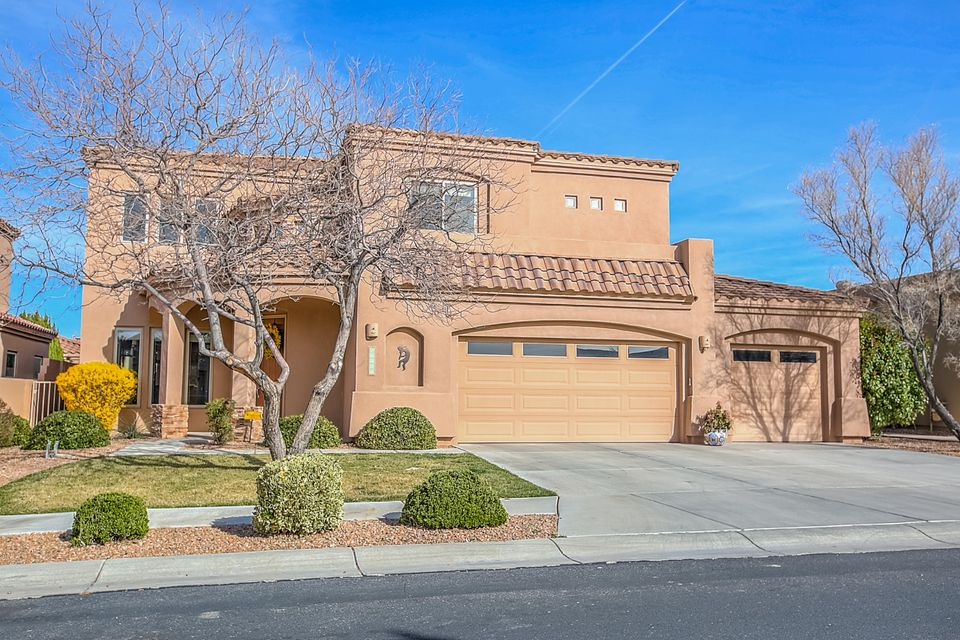 OPEN HOUSE SAT. 3/25 1-3pm. PLEASE SEE the Glide Through Video . Welcome to this elegant home in the sought after gated community of Oxbow! Pride of Ownership abounds. Pull up to Your New Home with such  lovely curb appeal in this gorgeous upscale neighborhood. Enter into the spacious living area with soaring ceilings and bountiful natural light. You will appreciate a chef's delight kitchen with granite counters, center isle, pantry and loads of beautiful cabinets.The kitchen is open to the second family room with toasty fireplace. Downstairs you will find one bedroom with full bath beside it on main floor. Upstairs enjoy an entrance loft with three additional bedrooms plus a very spacious master bedroom and bath. for a total of FIVE bedrooms!  Priced below market value (Please see ''MORE'