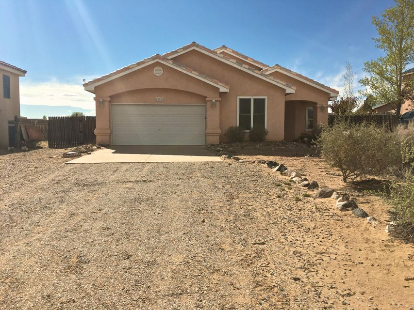 ''Under contract taking backup offers.'' Convenient location near Southern and Unser. Terrific  open floor plan, and the huge 1/2 acre backyard is perfect for all your toys.   Property to be sold ''As Is''.  Buyer will be responsible for any inspections.