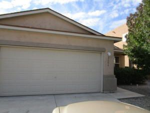 Welcome to Cabezon!  This sought after planned community in Rio Rancho offers neighborhood parks, pool, walking trails and close in location.  You don't have to go far to find shopping, restaurants, a movie theater, plus several local businesses that cater to Rio Rancho residents.  One of the few single story homes priced below the competition features 3/br, 2/ba, 2/AG with a great open floorplan w/FP.  Landscaped F&B.  Currently rented through August OR tenant will stay for investors.  Check the comps then come check out the home.  Thank you!