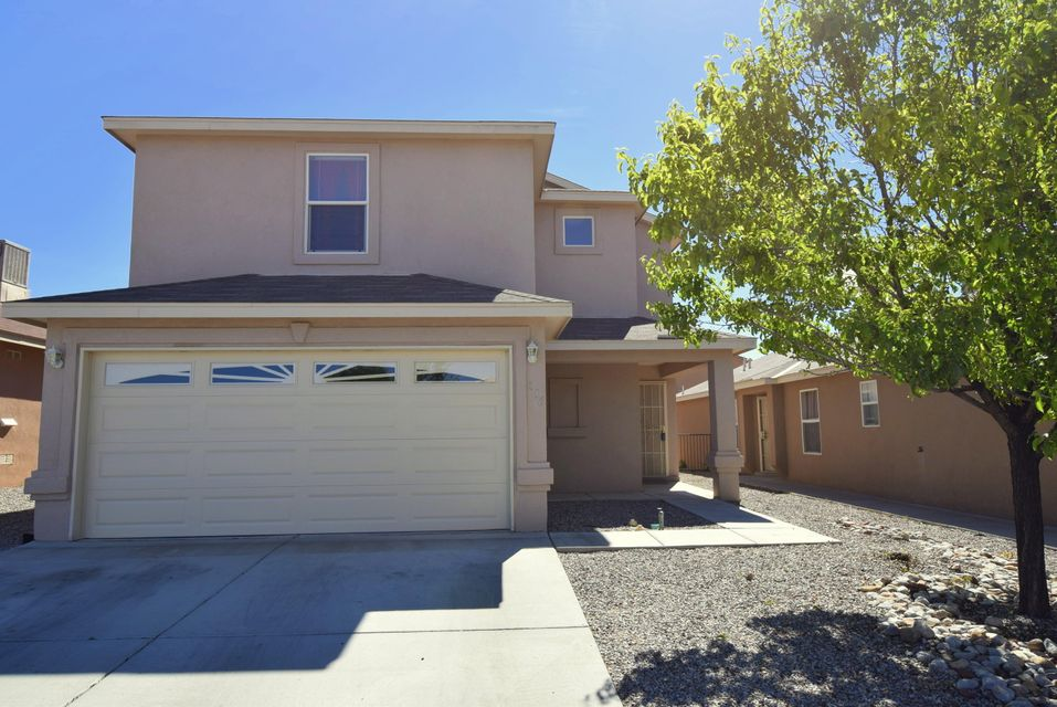 4 Bedroom home with a HUGE loft upstairs in immaculate condition!! Master bedroom downstairs!! Newer ceramic tile, newer carpet, newer counter tops, newer stainless steel appliances, built in microwave (ALL about 2 years ago!!). Walk in closets!! Ceiling fans!! This home has it all!!