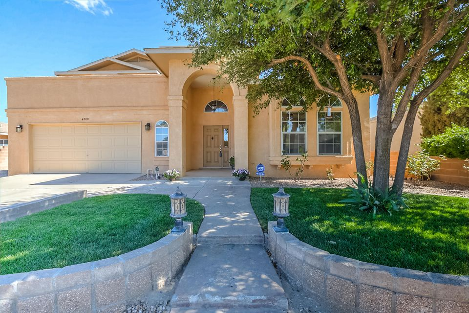 Just in time for summer fun!! This beautiful 3 bedroom home has tons of updates throughout. Brand new gourmet kitchen complete with custom cabinetry, stainless steel appliances, textured porcelain tile, granite counter tops, and crown molding.  New flooring throughout with fresh paint.  Refrigerated air.  Large heated, self-cleaning pool with waterfall hot tub feature.  Huge lot with mature, beautiful landscaping, new sod, and RV gate. This house was made for entertaining!