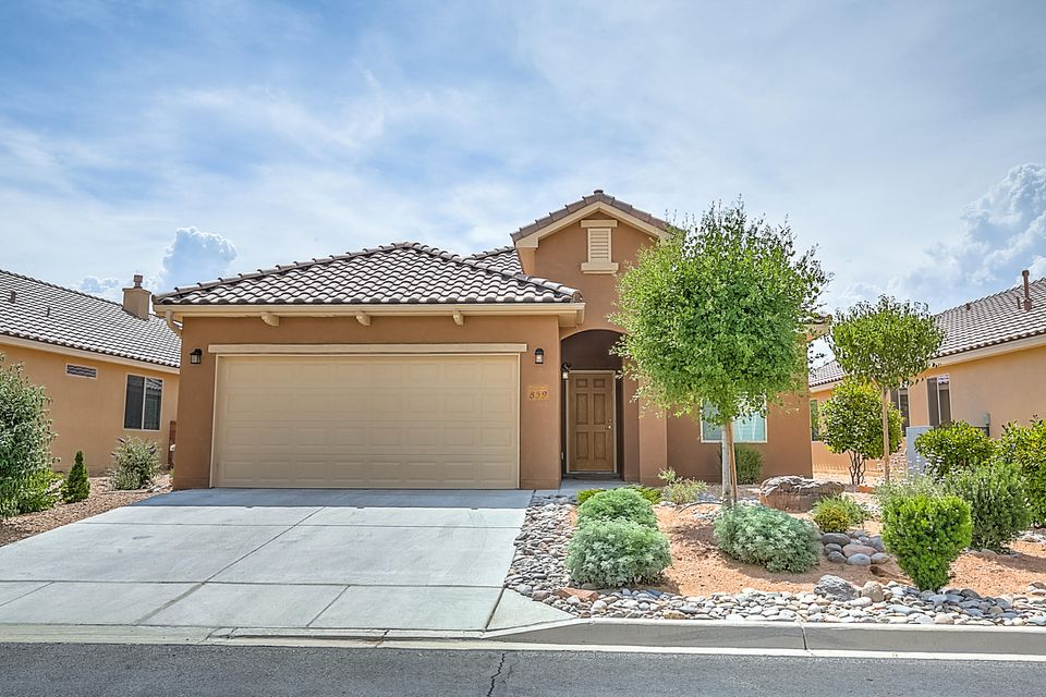 Fabulous Home in the 55 Plus Community of Del Webb Alegria!  Welcome to this 4 year old, 2BR, 2BA, 2CG, Pulte Built Home! House has been lightly lived in and is like new! Wonderful Kitchen with large island opens to the Living and Dining Room. Stainless Steel Kitchen-Aid appliances have been lightly used and include Refrigerator, Full Size Double Ovens, Gas Cook-top & Built in Microwave! Whirlpool W&D less than 4 years old, also lightly used.  Significant upgrades include 18'' ceramic tile, granite in kitchen, upgraded cabinetry, Hunter Douglas Ceiling Fans, Custom Shutters throughout, REF AIR, Gas Fireplace, gas stub out, extended irrigation system and plantings along with additional rock landscaping, Roof and Structure have a transferable builders warranty. W&D Stay! Move In Ready!