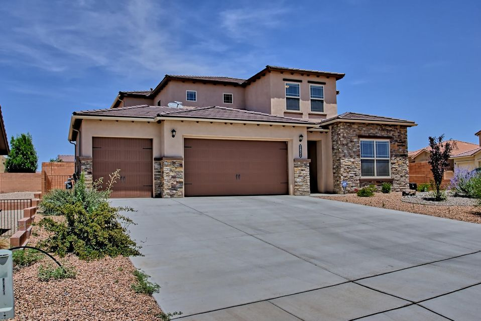 Welcome to beautiful single owner, 2 year young DR Horton Green Built Home. Open and bright with a modern layout complimented by a modern color scheme. Located on a premium corner lot. Close to parks, hiking trails, schools, and all that a master planned community has to offer! Spacious and conveniently planned home has the Master Bedroom downstairs along with a large open kitchen with beautiful granite counters, large eat in Island, abundant cabinetry and counters, separate dining area, open great room with inviting fireplace along with a Flex Room/Office, great home for entertaining! Upstairs has 3 Bedrooms along with the large family room, the rooms are spacious in size. Must see, this home has it all! Green built and HERS rated with  Like New! No need to wait for the builder. Must See!