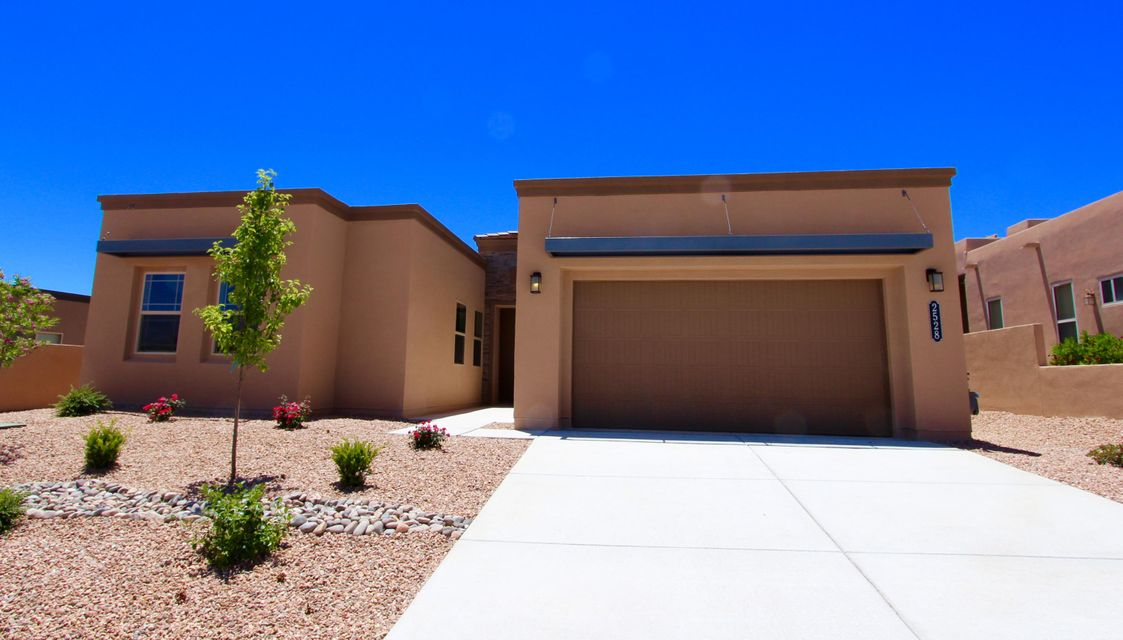 * Check out the Virtual Tour!*The first thing you'll notice is the elegant entryway and inviting front courtyard, which leads into the spacious great room. Any inspired chef will admire the extended kitchen island! This is a beautiful, well laid out floor plan great for entertaining and shared experiences. Live an exclusive lifestyle at Vista Manzano in Mariposa with amenities that make sense for fun and health: community center with 2 pools (1 indoor), work out facility and neighborhood grill, beautiful parks and views!