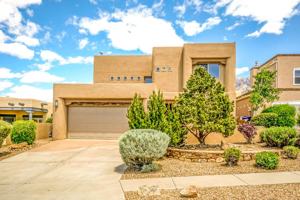 Open house Saturday (07/01) 12pm to 2pm and Sunday (07/02) 1pm to 3pm.  Welcome home to High Desert!This freshly updated 2 story home has 3 beds and 3 baths. Stunning 2 story living room with custom copper accents and fireplace. A large gourmet kitchen open to living area for impromptu entertaining! Lower floor rooms spill out onto a private patio and tranquil water feature. 1 bed and bath downstairs. Upstairs there is an airy loft. A romantic master retreat beckons, with its own balcony and stunning spa bathroom. Relax with the sparkling city light and majestic mountain vistas. High Desert boasts world class trails and views. You're home.