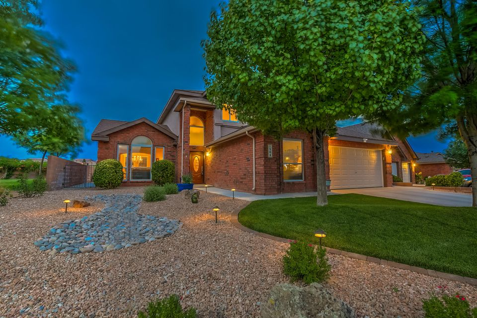 Community,Views,and Elegance only partially describes this amazing Pulpy beauty.  Situated in the heart of the Cul-De-Sac this home provides space, comfort and views of the park and the mountains.  This gorgeous home has been meticulously maintained and upgraded.  Everything from the Pella windows (Jan 2017) to the energy efficient NEW A/C units with smart control and tankless hot water heater.  In the last 12 months this home has new carpeting, paint inside and out, upgraded lights, hardware, flooring, custom Four Season heated and cooled sun room, gourmet kitchen appliances, upgraded landscaping and finished heated/cooled garage with commercial grade flooring(recent receipts totaling over $165,000).  Come walk through this amazing home nestled in the beautiful gated Corazon at Cabezon.