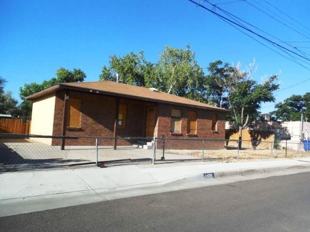 It's a great opportunity to upgrade this brick ranch that is conveniently locate to the major roadways,  ABQ BioPark Aquarium, schools and shopping. It offers 3 bedrooms, a  galley style kitchen and  covered patio.  There are upgrades needed on this house, bring your ideas and see how your finishing touch can restore the beauty here.Buyers should complete an inspection to determine if property condition meets their needs.