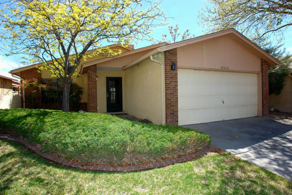 What a great one-story home in a private gated community!  Granite counterops, cherry-like custom cabinets, wonderful laminate and tile flooring, no carpet.  Cathedral ceilings add a dramatic feel. Cozy sun room is not included in square footage, but could be a great office , playroom,or workout area. Community offers two pools, club house, duck pond, tennis courts, and lovely walking trails.  Can lease or purchase land.  Land lease is $103/month, or purchase outright is $27,000 for the land.