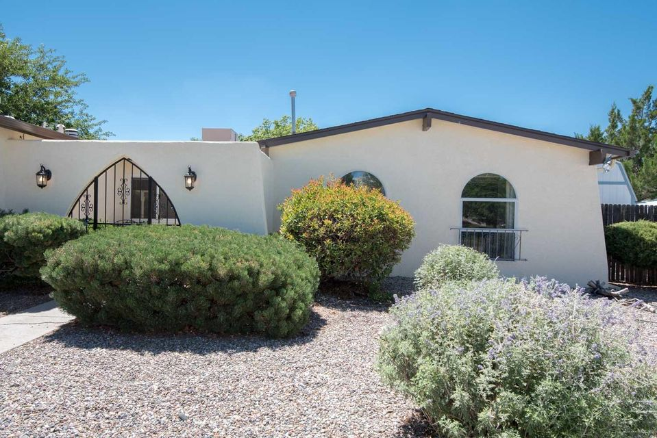 Open House Sunday, 10/29...1-3:30 PM..Located across from Loma del Norte Park, this totally remodeled home offers privacy and security with a gated courtyard entry. It features new roofs (2017), new stucco(2016), new irrigation systems, new exterior lighting, new hot water heater,(2016), new lifetime gutters plus newer thermal pane,vinyl clad windows.  The kitchen has an eat-in dining area, new tile flooring & tile backsplash newer appliances and is open to the living/dining room with a wood burning fireplace. All bathrooms have been newly remodeled from tile flooring to faucets, bedrooms all feature ceiling fans, the Master bedroom has new carpet, plus a handicapped accessible shower.  The 2 car garage is fully insulated, heated (not counted in heated square footage (see more)