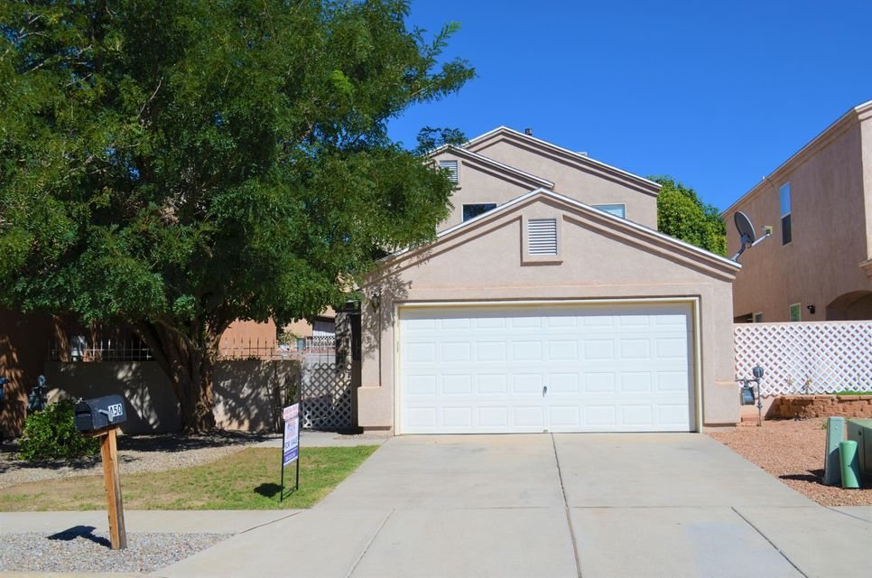 Back on market after Buyer's lending fell through - inspection done and home is ready to close. Bring your Buyers!  Convenient location located right off of Main St close to retail, shopping, minutes to Los Lunas high school and easy access to I-25. This two story home features with soaring ceilings in the living room which opens to the eat-in kitchen with all appliances. Master Bedroom located downstairs with 3/4 bathroom. Upstairs features two additional 2 bedrooms and 1 full bathroom located upstairs. Plenty of storage space throughout. Finished 2 car garage.