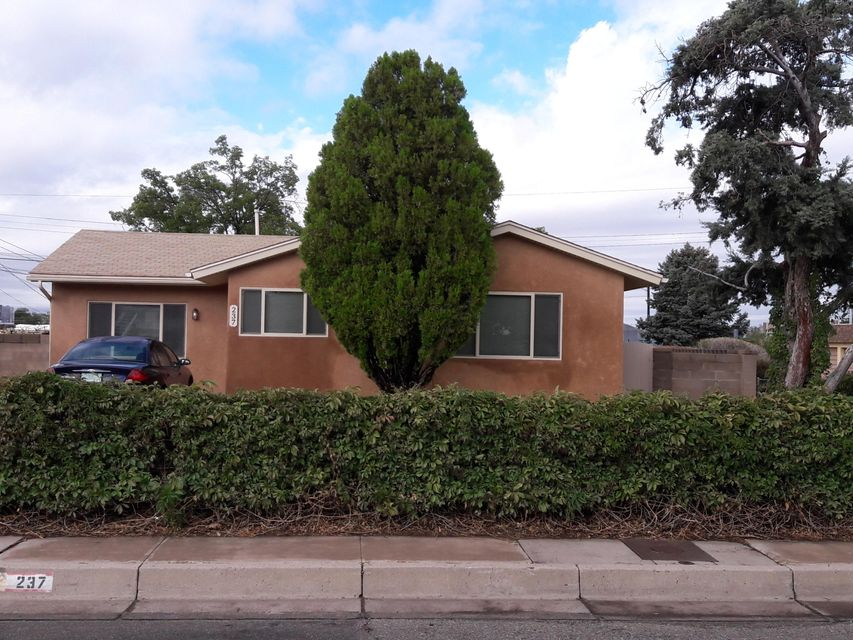 This 3 bedroom 1 bath home is close to everything,shopping, I40 and the Base. Beautiful corner lot with backyard access. Home has been well cared for and is waiting for a new family.
