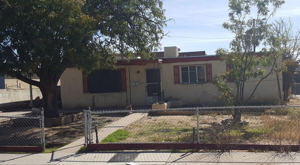 This is a 3 Bedroom home with 1 bath.There is 2 other areas in the back that are included in the square footage but might not be heated by the wall heaters in the home.this home is a short sale will be sold ''AS-IS'' with no work being performed by seller.Home is priced accordingly.