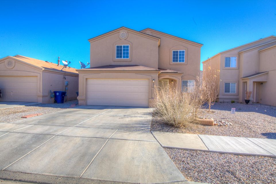 Enjoy gated community. Large 3 bedroom 2.5 bath home with 3 living areas. Cozy fireplace with family room and kitchen open to each other. Master is up stairs with plenty of room for children's toys.open light and bright. Make offer today.