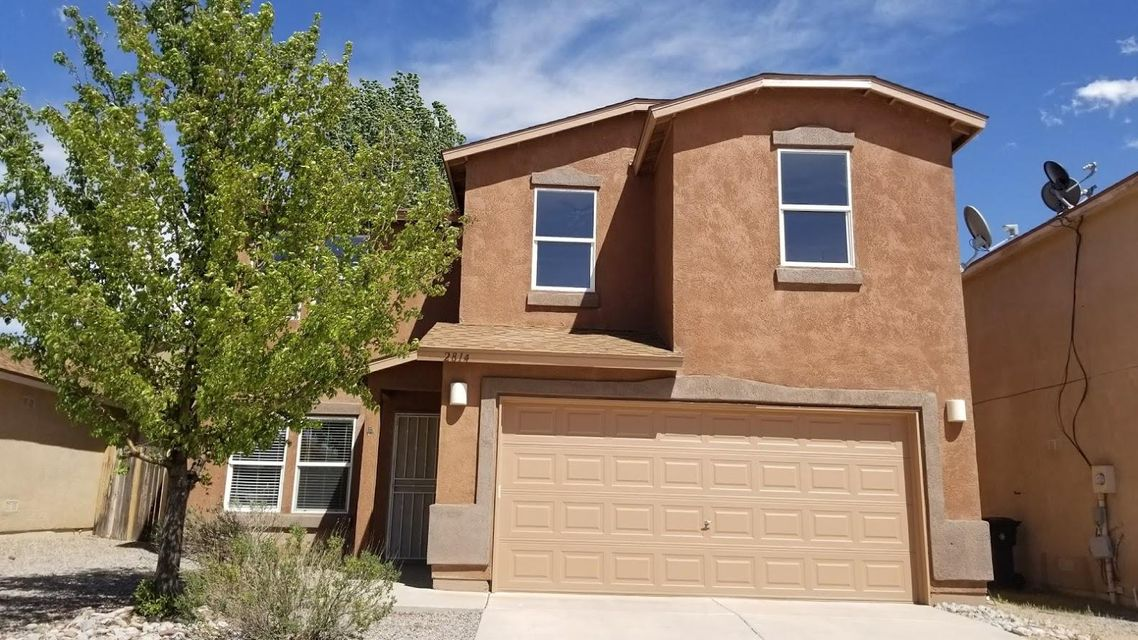 Excellent 4 BR Rio Rancho home featuring wood laminate flooring, new carpet, fresh new paint and brand new stainless steel appliances kitchen. Large workshop/shed in backyard. This is a Fannie Mae HomePath owned property.