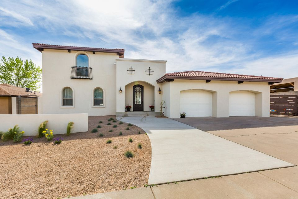 Rare opportunity! Breathtaking Glenwood Hills home.  ''Parade of Homes'' remodel winner!  $275,000 +/- spent in detailed renovations with far too many upgrades to list. 3,095 sq. ft; 3 bedroom, 3 bath with separate casita perfect for 4th bedroom, home office or man cave!  Large master bedroom on ground floor with fireplace and incredible master bath with huge walk in shower, beautiful quartz counters, double sinks, soaking tub and very large closet.  Very large open kitchen with beautiful cabinets, quartz counters, stainless steel appliances.  Incredible outdoor patio accessible from living area and master bedroom with special designed water feature - perfect for outdoor living and entertaining and incredible city views and sunsets. $7500 Broker Bonus for the month of June!
