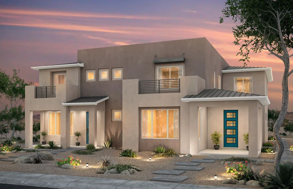 The Saguaro is a two-story townhome that provides plenty of living space with a contemporary style. The designer kitchen opens to the cafe and gathering room, and includes granite countertops and a Whirlpool(r) premium stainless-steel gas range. The den on the main floor is perfect for a home office. An upstairs loft provides a secondary living area. The private owner's suite includes a balcony, a luxurious bathroom, and a huge walk-in closet.