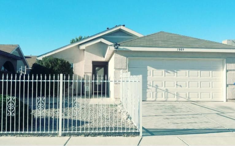 Income property only! This 3 bed 2 bath home features a spacious floor plan with an insulated garage and separate utility room. Easily maintained spacious backyard with artificial turf. Property also features a security wrought iron fence and window security bars