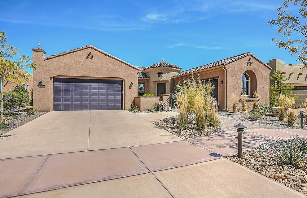Enjoy this brand new Del Webb home that is built to New Mexico Green Build Silver Certification. Energy efficient features include Low E windows and so much more. Our very popular Serenity home will feature an inviting courtyard entrance and is an entertainers dream! Wonderful kitchen with large granite island opens to a bright large gathering and dining room. Enjoy an active lifestyle at the Sandia Amenity Center.