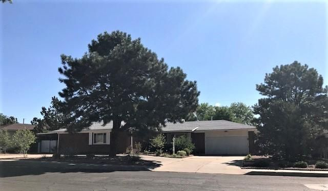 Nice one story home with almost half of an acre in the heart of Albuquerque. This beauty has so much to offer: large living room, nice side dining room and family room, 4 good side bedrooms, 2.25 baths, laundry room, private backyard and best of all extra parking on both sides. Just updated electrical.