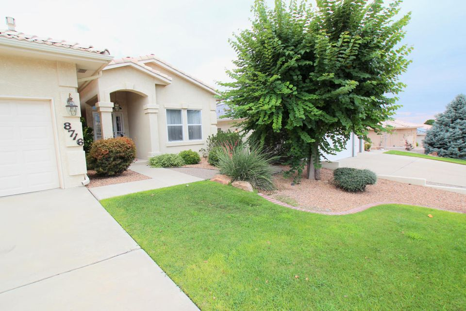 OPEN HOUSE 9/23/18 1-3PM. HUGE PRICE REDUCTION! MAKE SELLER AN OFFER. HOME NEEDS TO GET SOLD. Beautiful three bedroom, 2 bath home in far NE heights with tile roof. One owner home. Very well taken care, in an established neighborhood. Close to walking trails, shopping, restaurants and much, much more. Open concept floor plan. Great for entertaining. Refrigerated air. Home has a basement that could be used as a bedroom if needed or a family room, office or whatever you desire. Water closet in basement could have a shower put in to make it a full bathroom if needed. Basement large enough to make two bedrooms if more bedrooms are needed. Finish basement has many options. A full home inspection has been done and any corrections needed are in process.