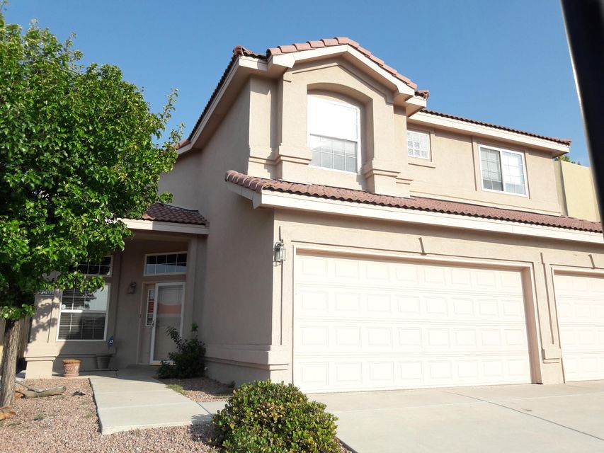 Plenty of room with a corner lot, 5 bedrooms, 3 bathrooms, plenty of storage  and a 3 car garage.  Covered patio in the quiet and private backyard. This home mixes open concept with luxury! Formal foyer and dining areas, but also has an amazing great room for entertaining. The Master Suite has plenty of room for an office area. The main floor boasts a 5th bedroom with neighboring bathroom. Perfect for multi-generational families. You MUST see this one!