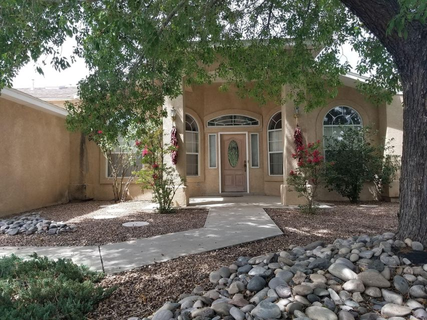 Come check out this awesome property !! Large lot for Taylor Ranch area , located near Schools, shopping centers, restaurants,  and minutes away from the interstate , this is a great location. Near running and bike trails, this property has a formal living and dining area in addition to a large family area which opens to a large covered patio and pool area! Office/study room great to accommodate any students.  Beautiful mature trees provide natural shading and privacy.  Open floor plan with a gas log fireplace in the family room. Pristine Quartz countertops and stainless steel appliances included as well as a water softener. 10k Price drop!! plus added credits allocated to change the paint ,and  the floors to make this home excatly how you'd want it!!