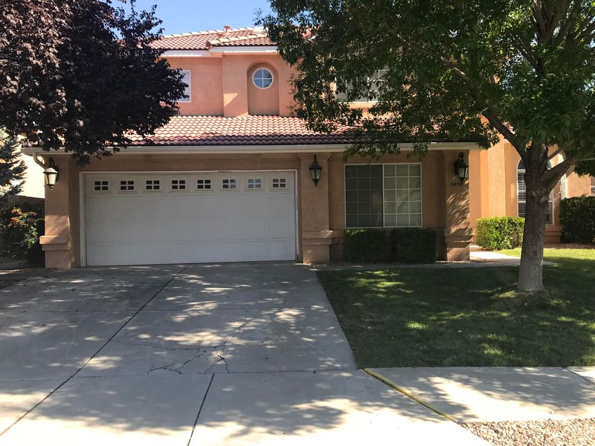 HUGE PRICE REDUCTION!!! Beautiful Centex Home. 5-6 bedooms .  Large lot in cul-de-sac.  Custom plantation shutters in living room and master bedroom.  Brand new carpet!  2 way fireplace in master with large sitting area and balcony! Separate shower and jetted tub in master.  Bright floorplan with sunny nook and large pantry.  Front yard has grass and trees. Backyard has lush lawn, roses and gazebo.