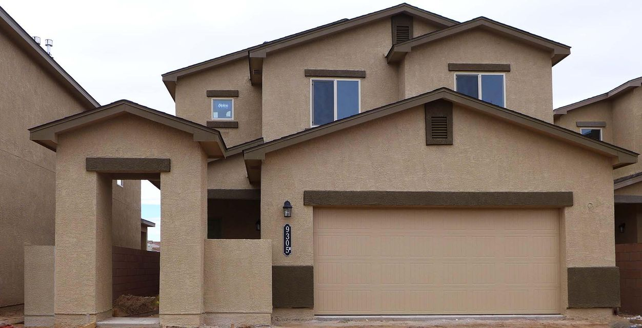 NO PID!  Brand-New Designer 'Trailblazer' Express Homes by D.R. Horton Will Charm You With Its Bright 2-Story Living. 4 Bedrooms, 2.5 Baths, a Huge Loft Up. Chef's Kitchen with Granite Counters and Island with Bar Top. Sparkly-New Stainless Kitchen Appliances Including French-Door Fridge, Self-Clean Range, Microwave, Dishwasher! Washer+Dryer too! Cavernous Living Room Provides Endless Entertaining. Master Suite Sports an Extra-Wide Tiled Shower Made For 2, Double Sinks and a Roomy Master Closet. Large 18-Inch Ceramic Tile Flooring for Elegance and Appeal, The 2X6 Exterior Construction and Extra Wall and Ceiling Insulation Provide Outstanding Comfort and Energy-Savings, 2 Refrigerated Air Conditioners, Front Courtyard Can Be Gated for Privacy, Estimated October Completion. Must See Today!