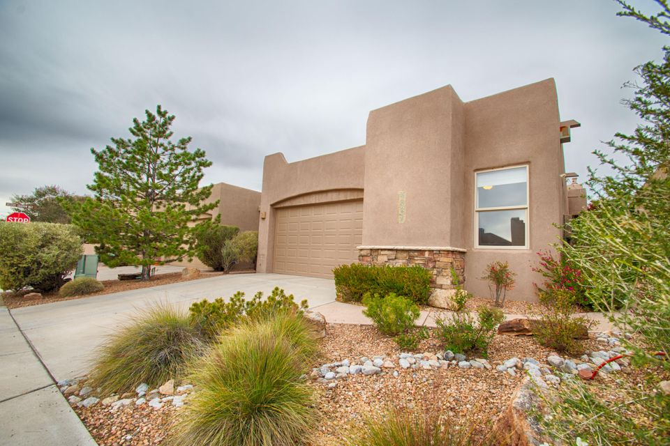 Beautiful home in Desert Ridge Place! Enjoy the peace and safety of this quiet neighborhood with close access to shopping, dining, parks and entertainment! From the moment you walk in the entryway you will be wowed by amazing attention to detail. From the Raised wood beam ceilings to the high quality materials and craftsmanship, this home stands out! Spacious kitchen with plenty of storage and large pantry, large bathrooms and closets, fully landscaped front and back yard with built in drip system! This one feels like home.