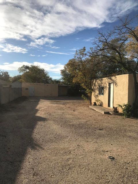 Great opportunity to own this centrally located property.  There are 2 buildings on the lot.And 2 electric meters.  Does need some work. Property is sold in as is condition