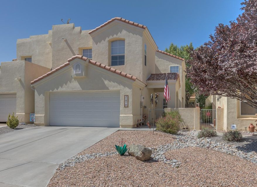 Come visit this beautiful home in The Renaissance.  Owners have lovingly updated this  home with granite, light fixtures / ceiling fans and a tasteful color palette.  TPO roof was installed in 2016 and NEW FURNACE + A/C conversion completed in winter of 2015.  This home is truly MOVE IN READY!  Backyard is an oasis with mature landscaping, shade trees, lawn and open patio.  Just enough room in which to relax and entertain, but not so much that you are a slave to yard work. Front yard maintenance is responsibility of the HOA.  Located in gated community near conveniences, Rust Hospital, PO and recreational center. Low monthly dues of $68.  Make appt to see today and you could be enjoying Christmas in YOUR NEW HOME!