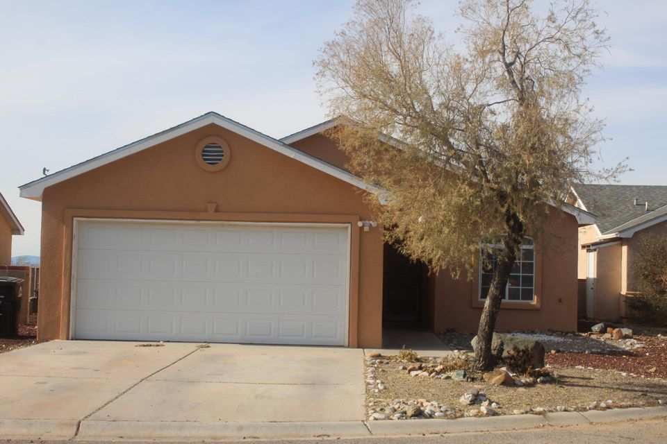 This home offers spacious and functional open floor  w/ vaulted ceiling,2 x 6 construction, ceramic tile flooring, refrigerated air, Exterior has already been re-stucco. Currently been painted and will have  new appliance, still time to select the carpet.