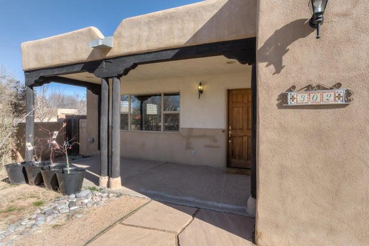 Southwest Pueblo Home in Nob Hill.