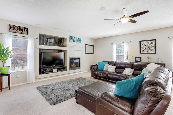 watch movies with the whole family in the large living room