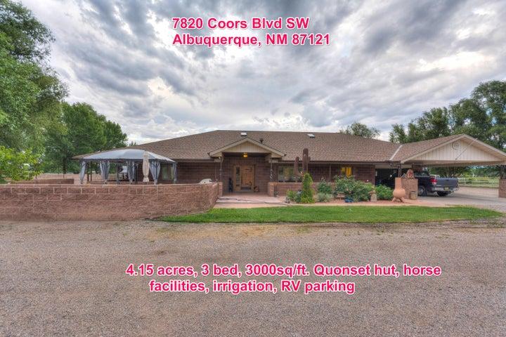 7820 Coors Boulevard SW, Albuquerque, NM 87121