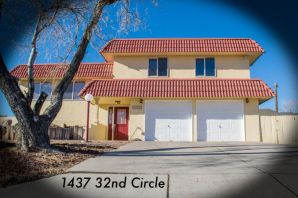 Open House 1-3pm Saturday June 1st! Price Reduced! Spacious split-level home on large half-acre lot! Home is located near local businesses and shopping centers in Rio Rancho Estates. Semi spiral staircase connects the multi levels. Enjoy eastern facing windows with views of the Sandia Mountains. Kitchen and dining area features a walk-out porch for viewing the evening western sky. Home has wood flooring, tile, and carpet throughout. Large bedrooms! Downstairs bedroom is finished with lightly colored wood flooring and matching wall paneling, also features outside access. Rare to find home with basement! New ROOF with a transferable warranty! Freshly Painted! 1/2 acre! PELLA windows! Full home inspection complete! See attached floor plan!