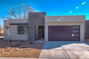 Beautiful contemporary Sivage home in small gated community at the end of Campbell Road west of Rio Grande Boulevard. Easy access to Bosque walking trails and the Nature Center. Close to shopping, restaurants, Old Town, Downtown, and freeway access. This four bedroom home is for the discriminating buyer who wants city and bosque living. Home includes custom finishes: Quartz counters, High End Designer cabinets,  Bosch appliances, Pella windows, custom lighting.....