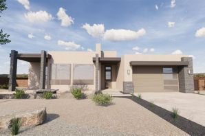 Stunning Contemporary style home located in a fast growing area of Rio Rancho!  Home features 2,738sf w/3 bedrooms, 3 Full baths, includes an additional Rec. room/Den or 4th Bedroom, w/a 3-car tandem garage! Modern finishes & tile throughout home with carpet in the bedrooms! Spaciously designed kitchen hosting high end cabinetry with modern finishes, Quartz countertops, floating shelves, tile backsplash, stainless steel appliances with a large pantry. Open living room w/ large windows that bring in the natural light. From the large master suit enter through the Barn door into a tranquil space w/a large soaking tub, walk-in shower w/glass enclosure, dual sinks & walk-in closet. The covered patio has incredible views of the Sandia's. Luxury at its Finest! Home will be completed in June 2019.