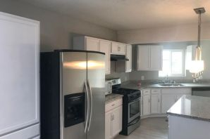 Nicely remodeled Home. 5br/3bathes. Possible 2 masters. 2 living areas..Stainless steel appliance, granite kitchen and bathes, new flooring, new paint. Refrigerated AC. New Heating system. Virtually all new windows. All updates done in 2018. Move in ready.Many Home Improvements.