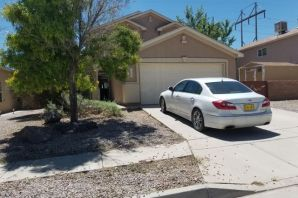 Nice 3 bedroom with a possible 4th bedroom/Office space.Master bedroom has 2 walk in closets. New carpet and new paint. Backyard access with larger yard.