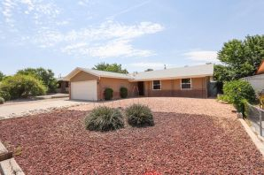 This is a very adorable remodel in the NE Heights.  3 Bed 2 bath and 2 living spaces.  You will  enjoy new appliances, new flooring, paint, windows, as well as white wash feature fireplace.  Come see the beautiful landscape, and spend your evenings on the patio in the fenced back yard.  This home will go fast! Schedule your showing Today!!