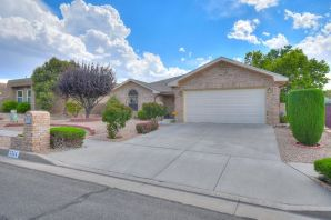 Welcome Home to this 3 bedroom, 2 bathroom, one owner home shines with pride of ownership. Not only does it have a great floorplan, it also has fantastic views of the Sandias! Located in a wonderful, convenient neighborhood off of Paseo Del Norte and right across the street from a beautiful park where you can enjoy a picnic on any of our sunny days. This is one you'll definitely want to check out!